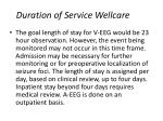 duration of service wellcare