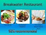 breakwater restaurant
