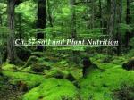 ch 37 soil and plant nutrition
