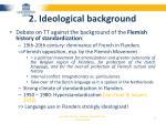 2 ideological background