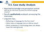 4 5 case study analysis