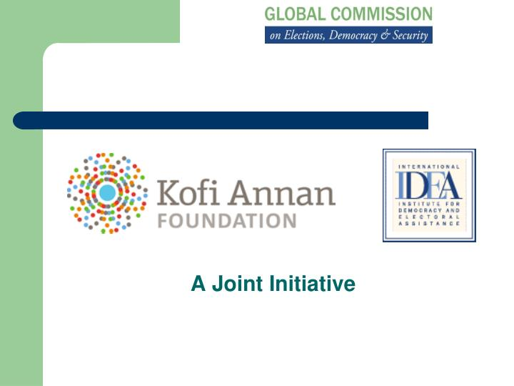 a joint initiative n.