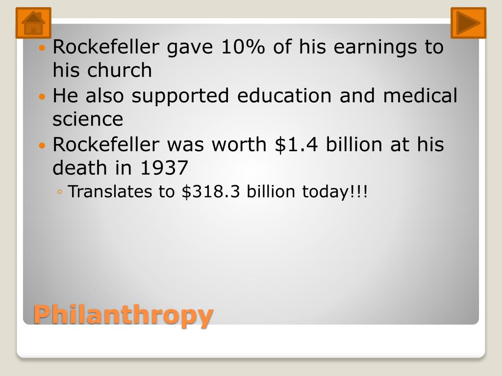 PPT - John D. Rockefeller PowerPoint Presentation - ID:2196219