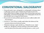 conventional sialography