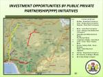investment opportunities by public private partnership ppp initiatives