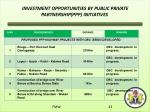 investment opportunities by public private partnership ppp initiatives2
