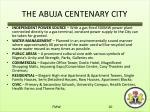 the abuja centenary city1