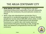 the abuja centenary city3