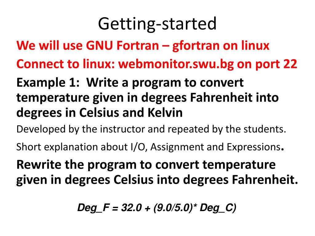 PPT - Fortran: Language Elements PowerPoint Presentation - ID:2196278