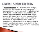 student athlete eligibility1