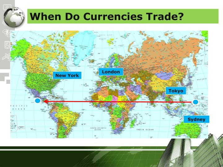 When Do Currencies Trade?