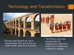 technology and transformation