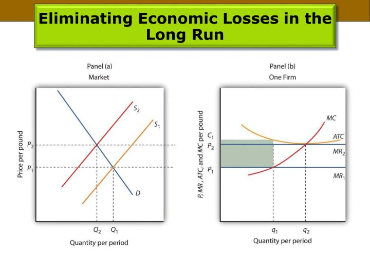 Eliminating Economic Losses in the Long Run