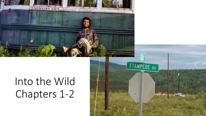 into the wild chapters 1 2 n.