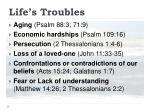 life s troubles