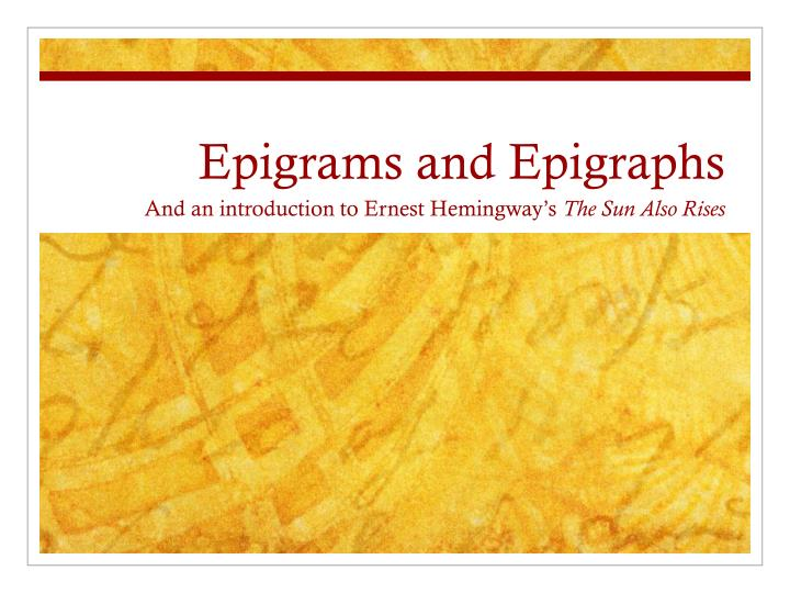 using epigraph essay Home forums community forum using epigraph essay – 434917 this topic contains 0 replies, has 1 voice, and was last.