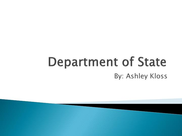 department of state n.