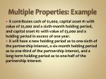 multiple properties example