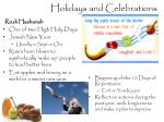 holidays and celebrations1
