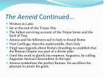 the aeneid continued