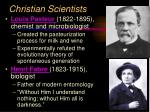 christian scientists11