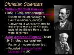 christian scientists13