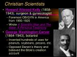 christian scientists14