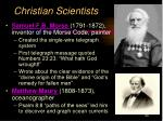 christian scientists9