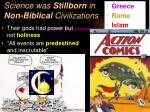 science was stillborn in non biblical civilizations1