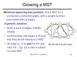 growing a mst