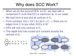 why does scc work