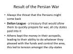 result of the persian war