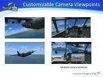 customizable camera viewpoints
