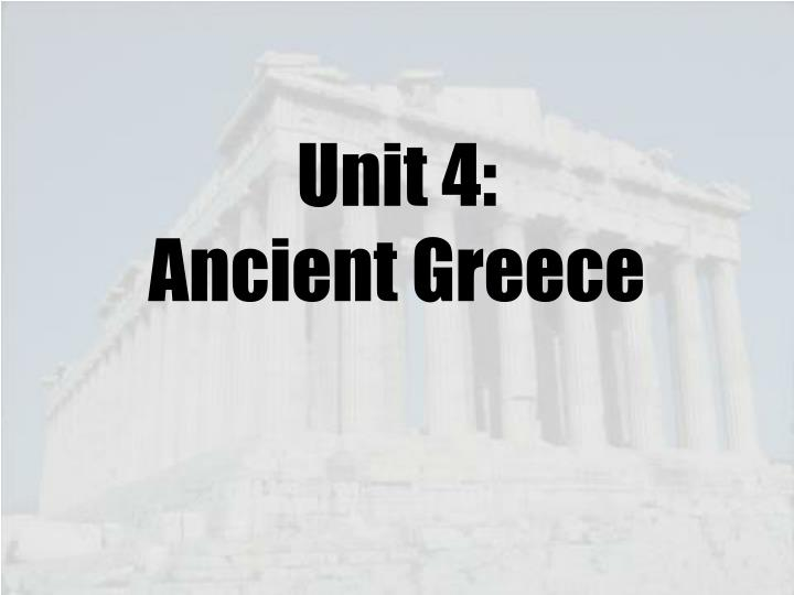 unit 4 ancient greece n.