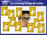 diminishing marginal utility1