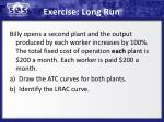 exercise long run
