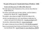 the plot of boccaccio s teseida delle nozze d emilia c 13401