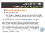 area of action 3 humanitarian assistance1