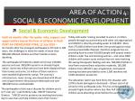area of action 4 social economic development2