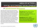 area of action 4 social economic development3