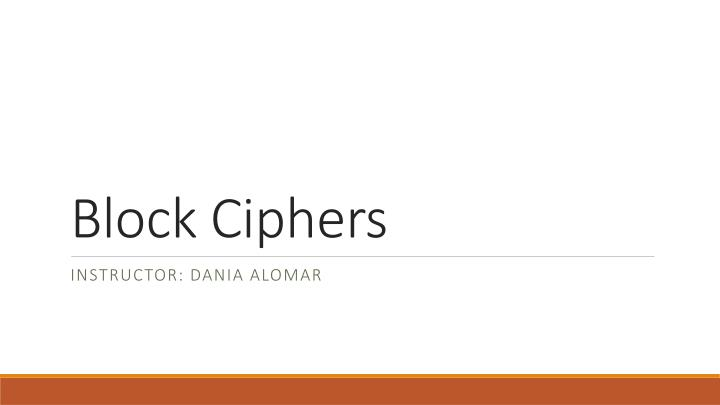 block ciphers n.