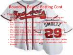 rounders basics batting cont