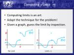 computing a limit