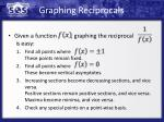 graphing reciprocals