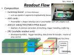 readout flow