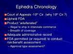 ephedra chronology3