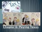 chapter 6 paying taxes