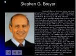 stephen g breyer