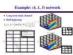 example 4 1 3 network