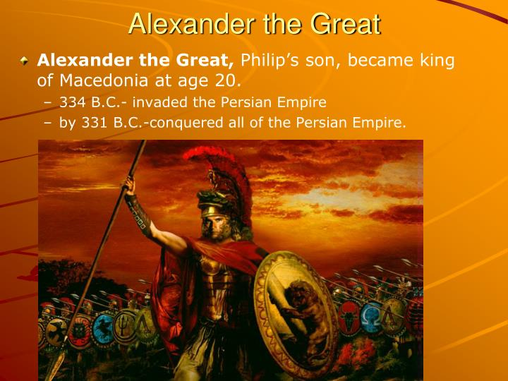 a biography of alexander the great a king of macedonia Alexander the great was born in the pella region of macedonia on july 20, 356 bc, to parents kingphilip ii of macedon and queen olympia, daughter of king neoptolemus.